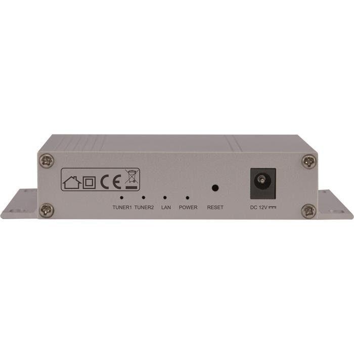 TELESTAR Sat-to-IP Router/Server für bis zu 2 Teilnehmer »Digibit Twin«