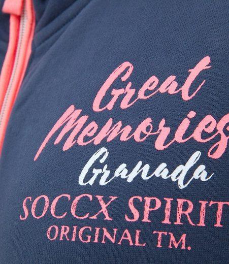 Soccx Hooded Sweat Jacket