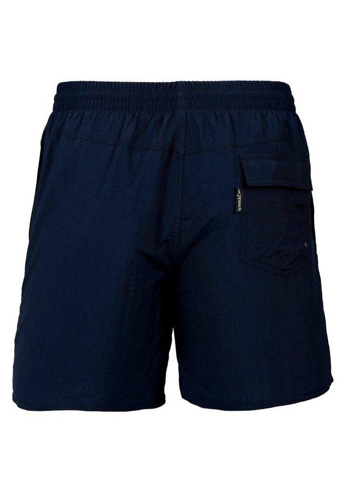 - Herren speedo Hose Solid Leisure 16 Watershort Men Navy blau, rot | 05051746717016