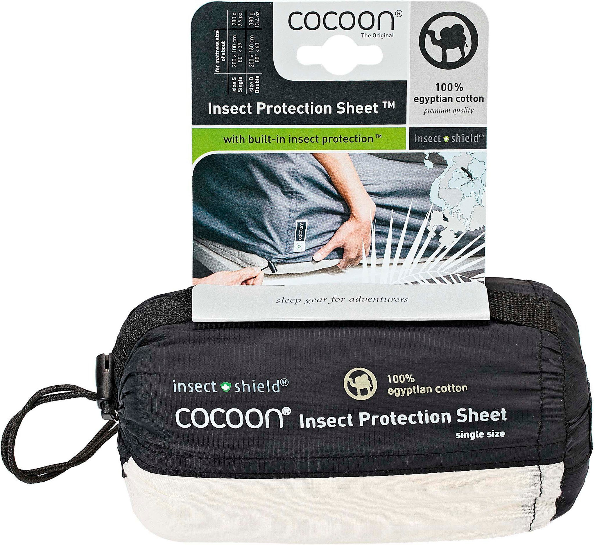 Cocoon Reisekissen »Insect Protection Sheet Double«