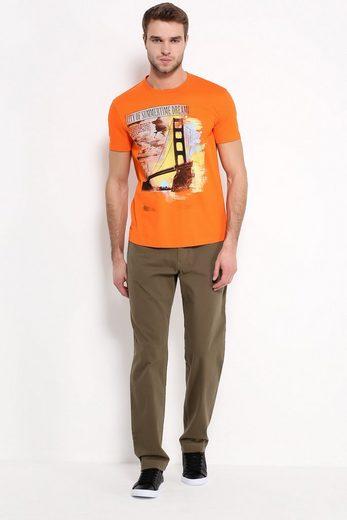 Finn Flare T-Shirt mit Foto-Print