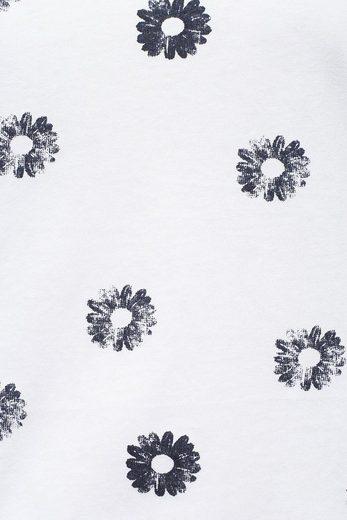 Finn Flare T-Shirt mit schönem Blumenmuster