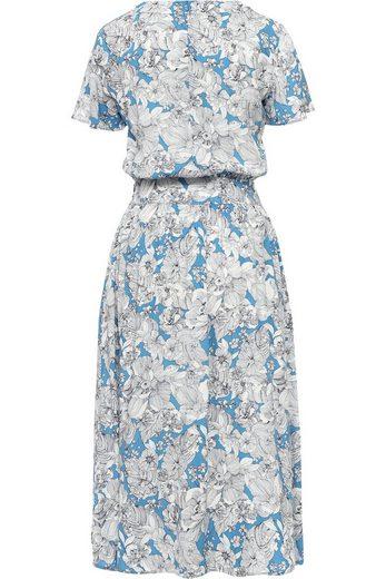 Finn Flare Kleid mit sommerlichem Blumendruck