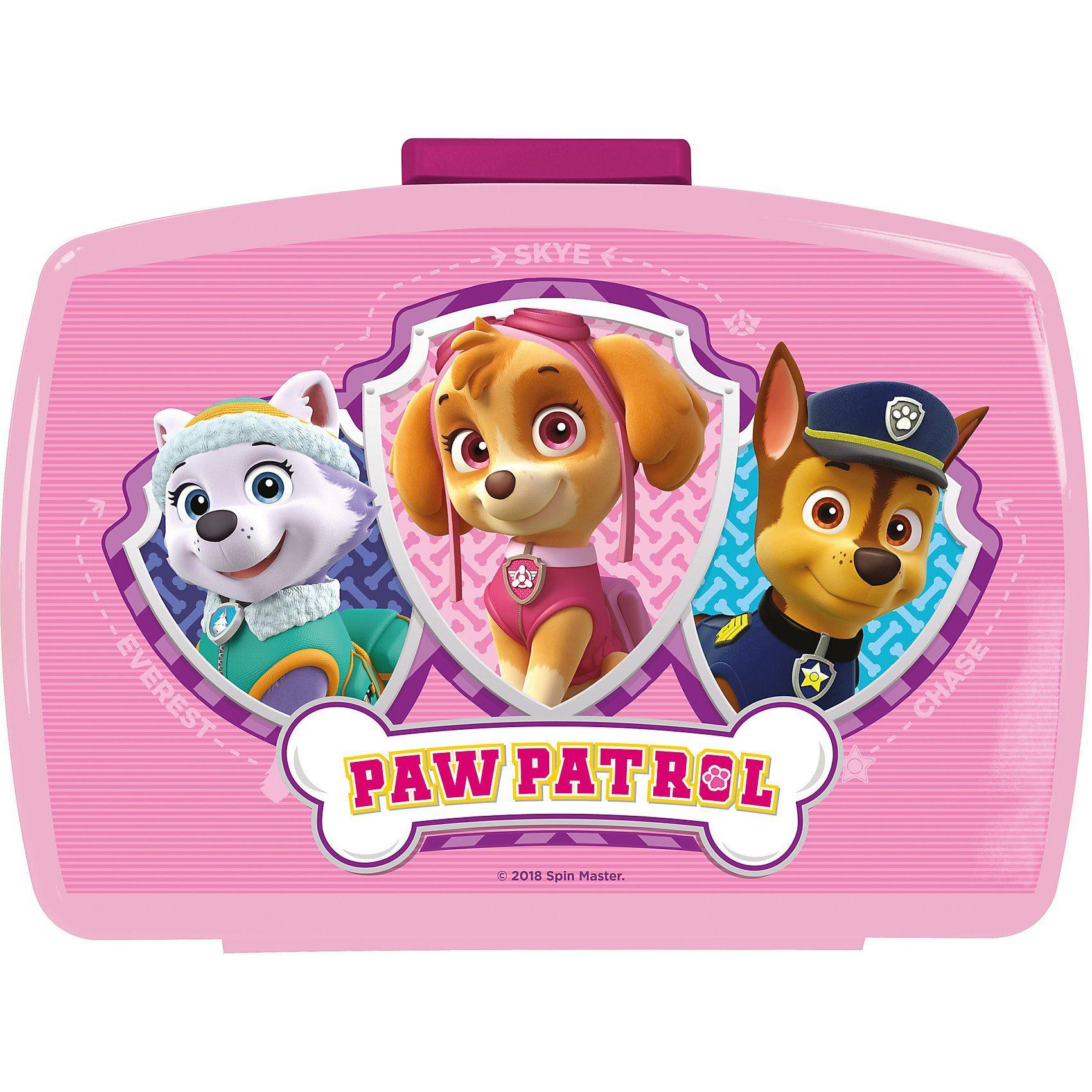 p:os Premium-Brotdose PAW Patrol Girls