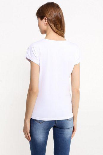 Finn Flare T-Shirt mit modischem Paisley-Print