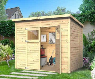 KONIFERA Gartenhaus »Amrum 3«, BxT: 251x199 cm