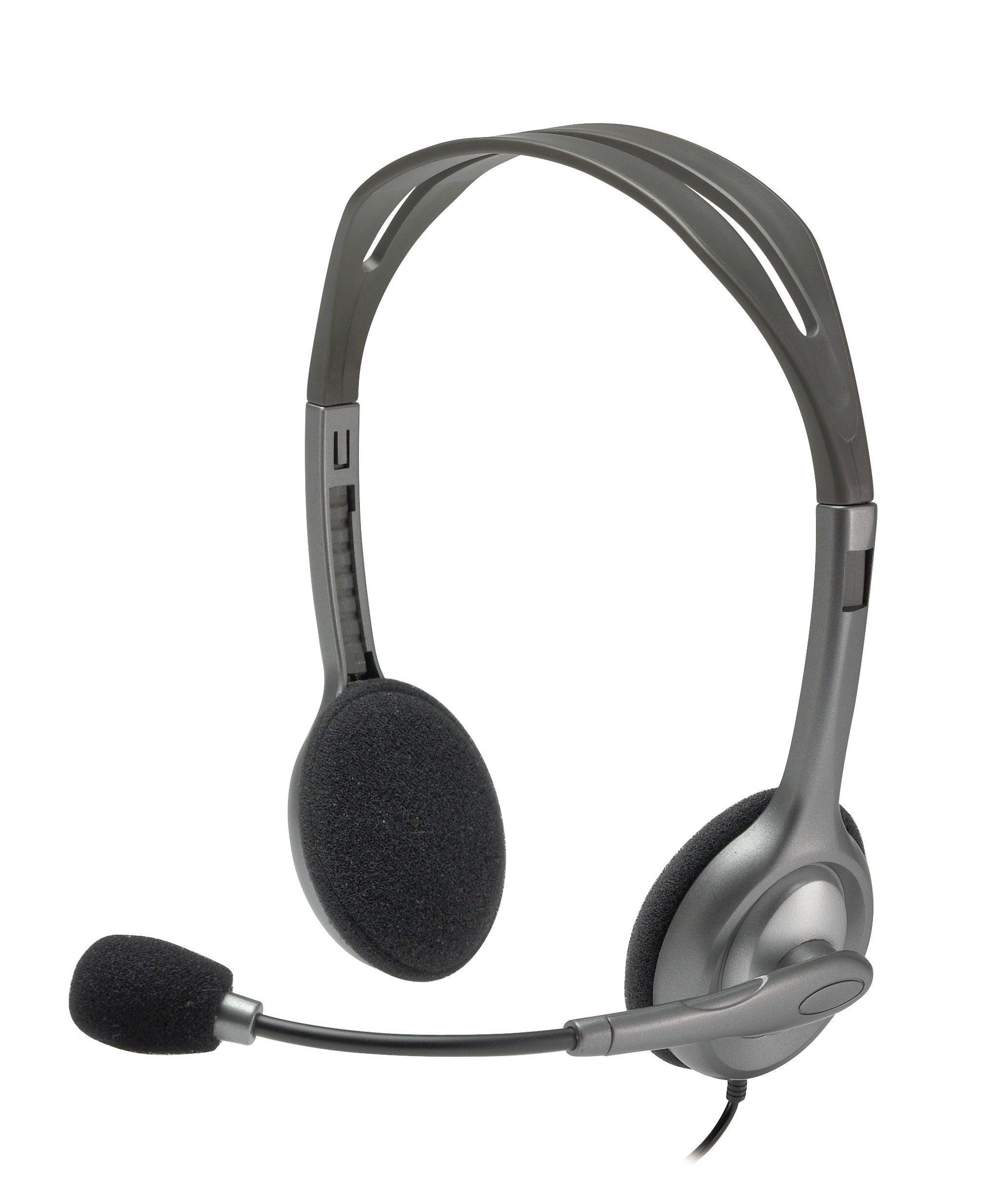 Logitech Headset »Stereo Headset H110 - 981-000271«