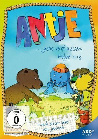 DVD »Antje geht auf Reisen, Folge 1-13«