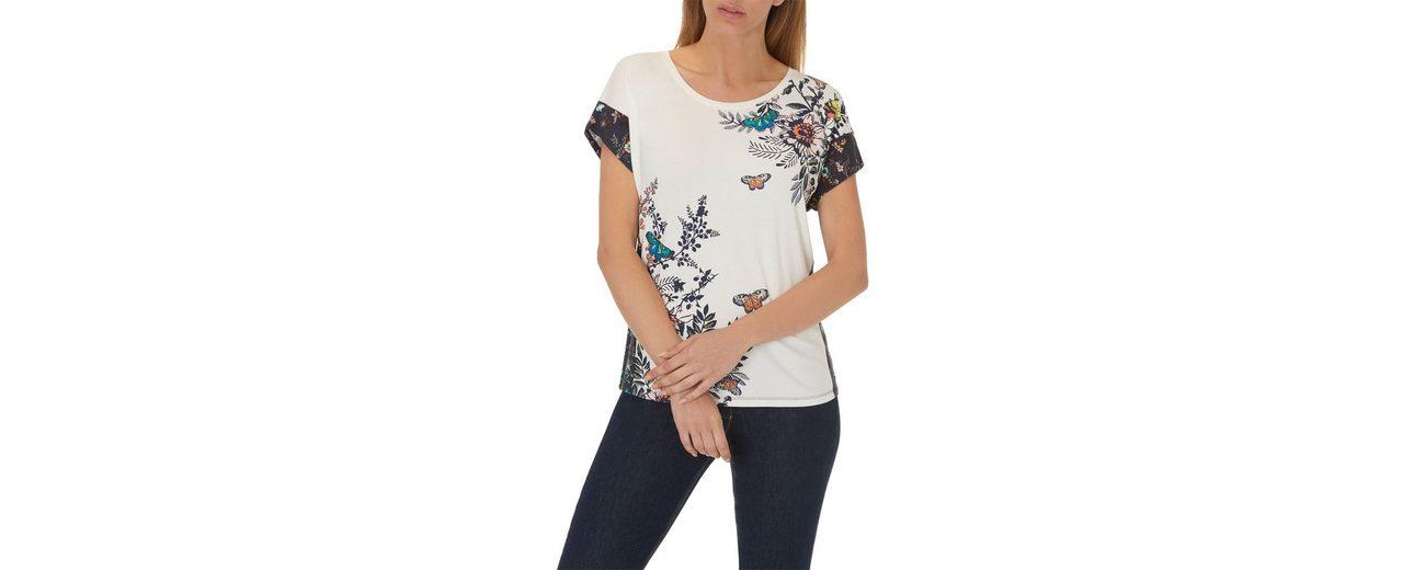 Beste Authentisch Erkunden Online Betty Barclay Shirt mit Schmetterlingen und Blumenprint Günstiges Online-Shopping pDN1A