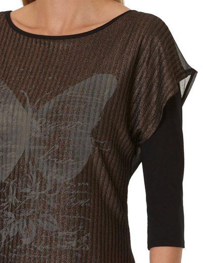 Betty Barclay Shirt mit Schmetterling-Print