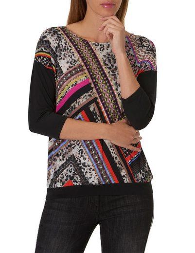 Betty Barclay Shirt mit plaziertem Mustermix Druck