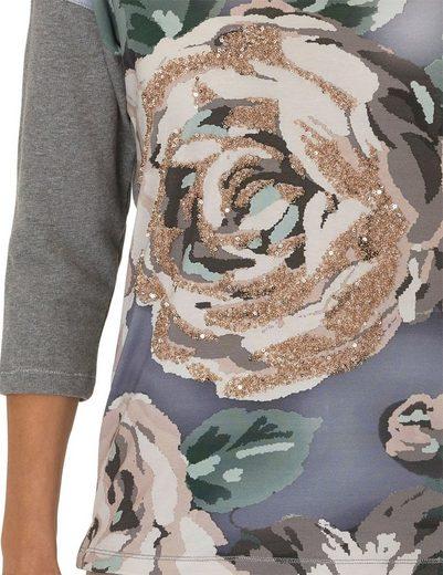 Betty Barclay Sweatshirt mit floralem Design