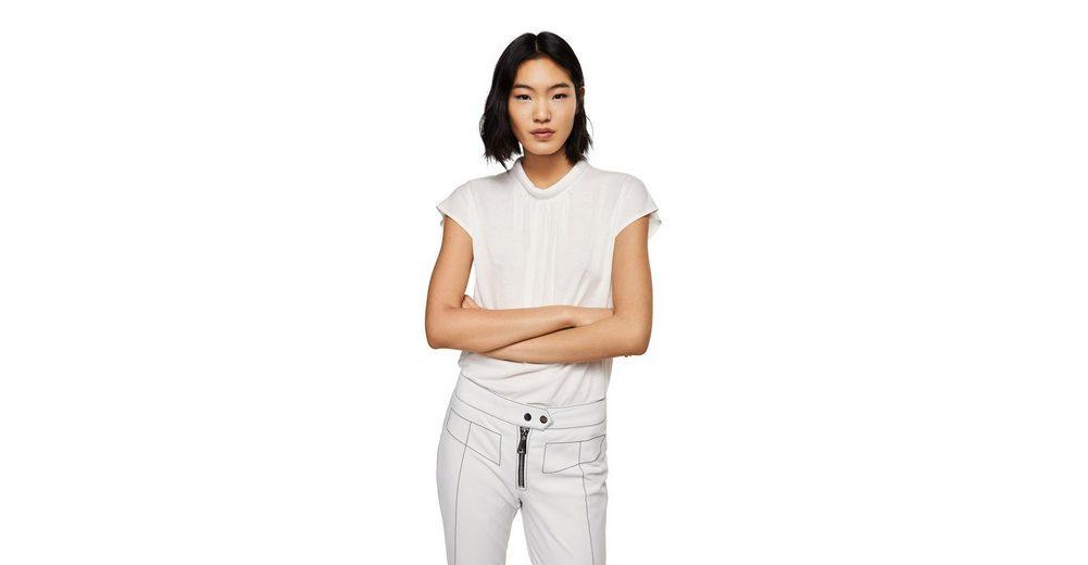 Extrem Online Outlet-Store Zum Verkauf MANGO Shirt mit Detail am Ausschnitt Xrq7e