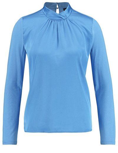 Typhoon T-shirt Long Sleeve Crew-neck Blouse Shirt Stehkragen