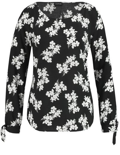 Typhoon Blouse Long Sleeve Blouse With Millefleurs-dessin
