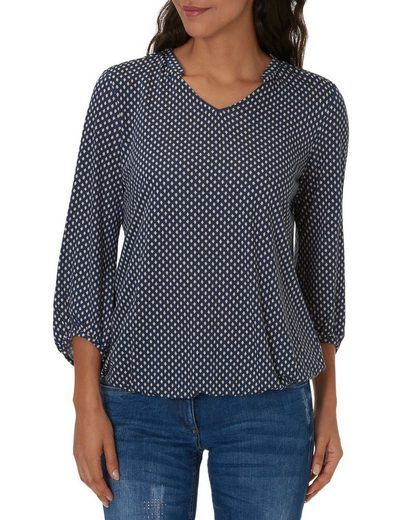 Betty Barclay Shirt mit Allover Print im Blusenstil