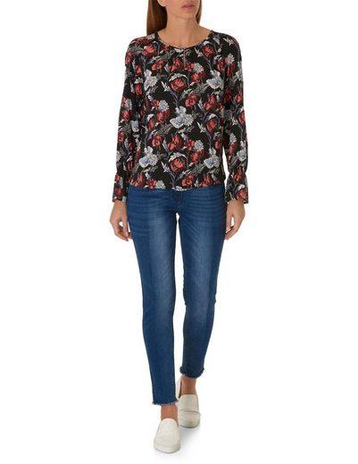 Betty&Co Bluse mit Allover Blumen Print