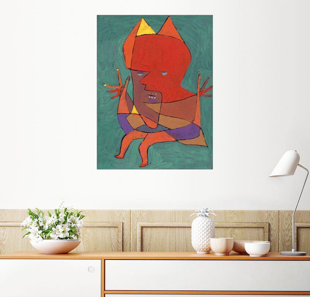 Posterlounge Wandbild - Paul Klee »Kleiner Furtufel«