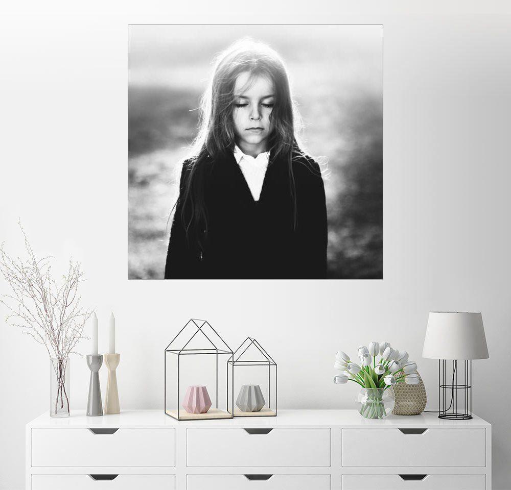 Posterlounge Wandbild - Amir Bajrich »Portrait eines Kindes«