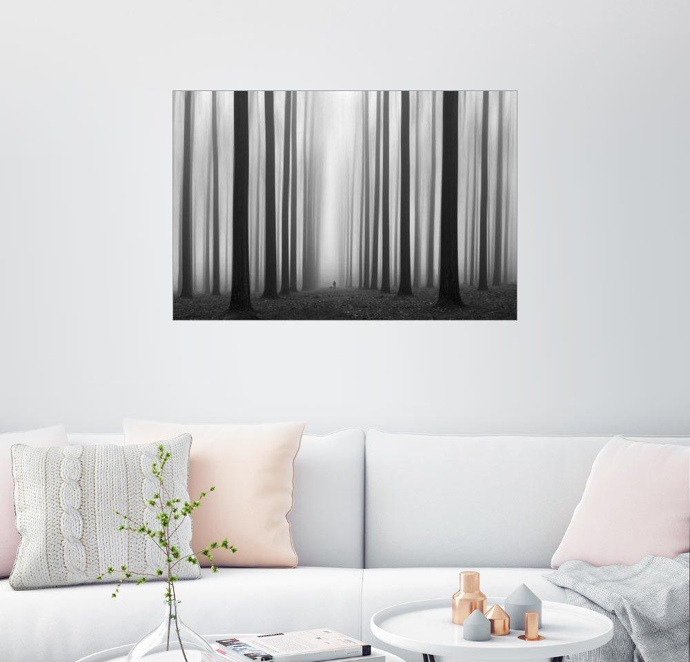 Posterlounge Wandbild - Jochen Bongaerts »Labyrinth« | Dekoration > Bilder und Rahmen > Bilder | Holz | Posterlounge