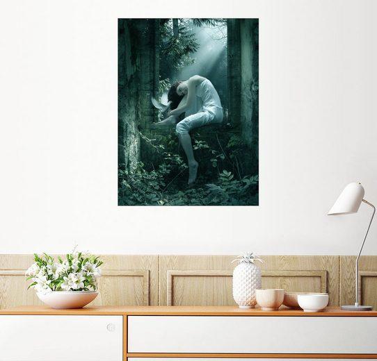 Posterlounge Wandbild - Elena Dudina »Almas blancas«