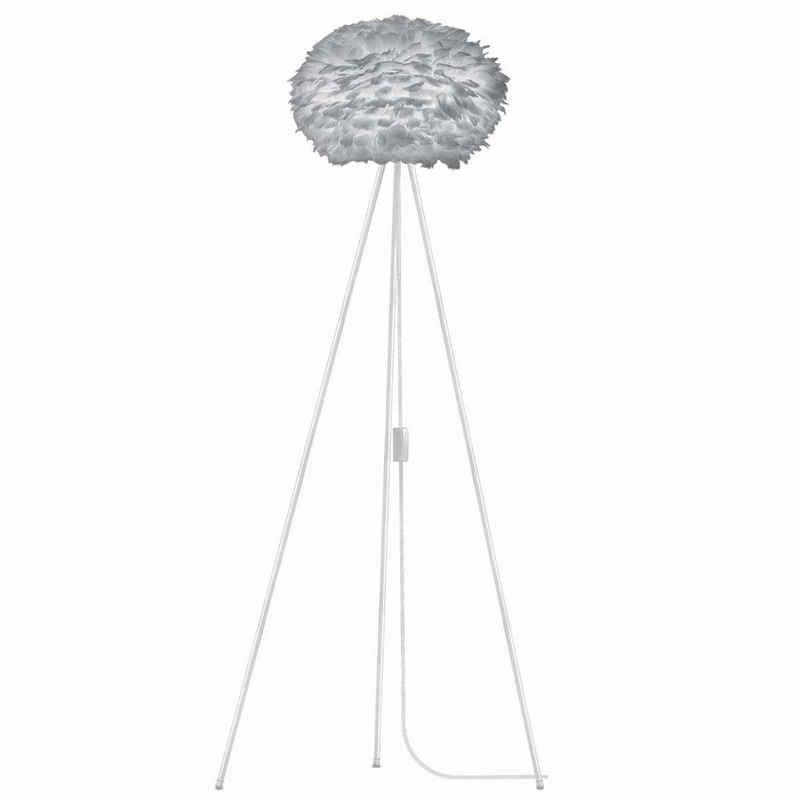 Umage Stehlampe »Umage / VITA Stehleuchte Eos light grey inkl. Tripod weiss D 45 cm Tripod H 109 cm Lampe«