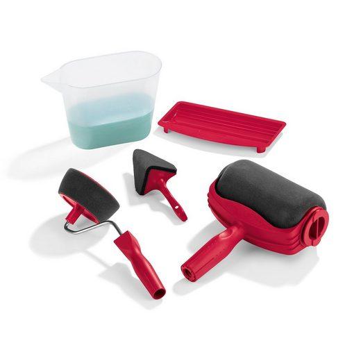 EASYmaxx Streichpalette, Streichset 5 Teile rot
