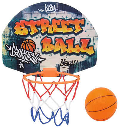 SIMBA Basketballkorb (Set), mit Türhalterung