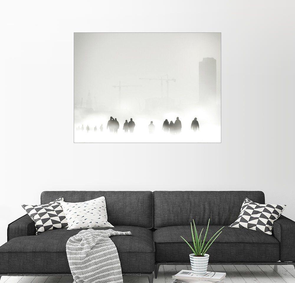 Posterlounge Wandbild - Piet Flour »Atmosphäre« | Dekoration > Bilder und Rahmen > Bilder | Holz | Posterlounge