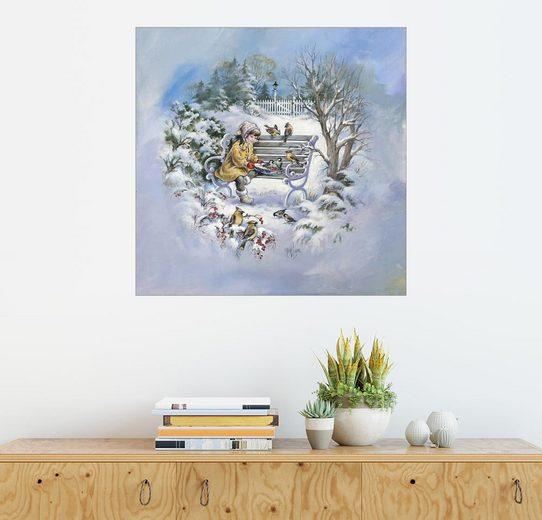 Posterlounge Wandbild - Mimi Jobe »Singvogel 3«