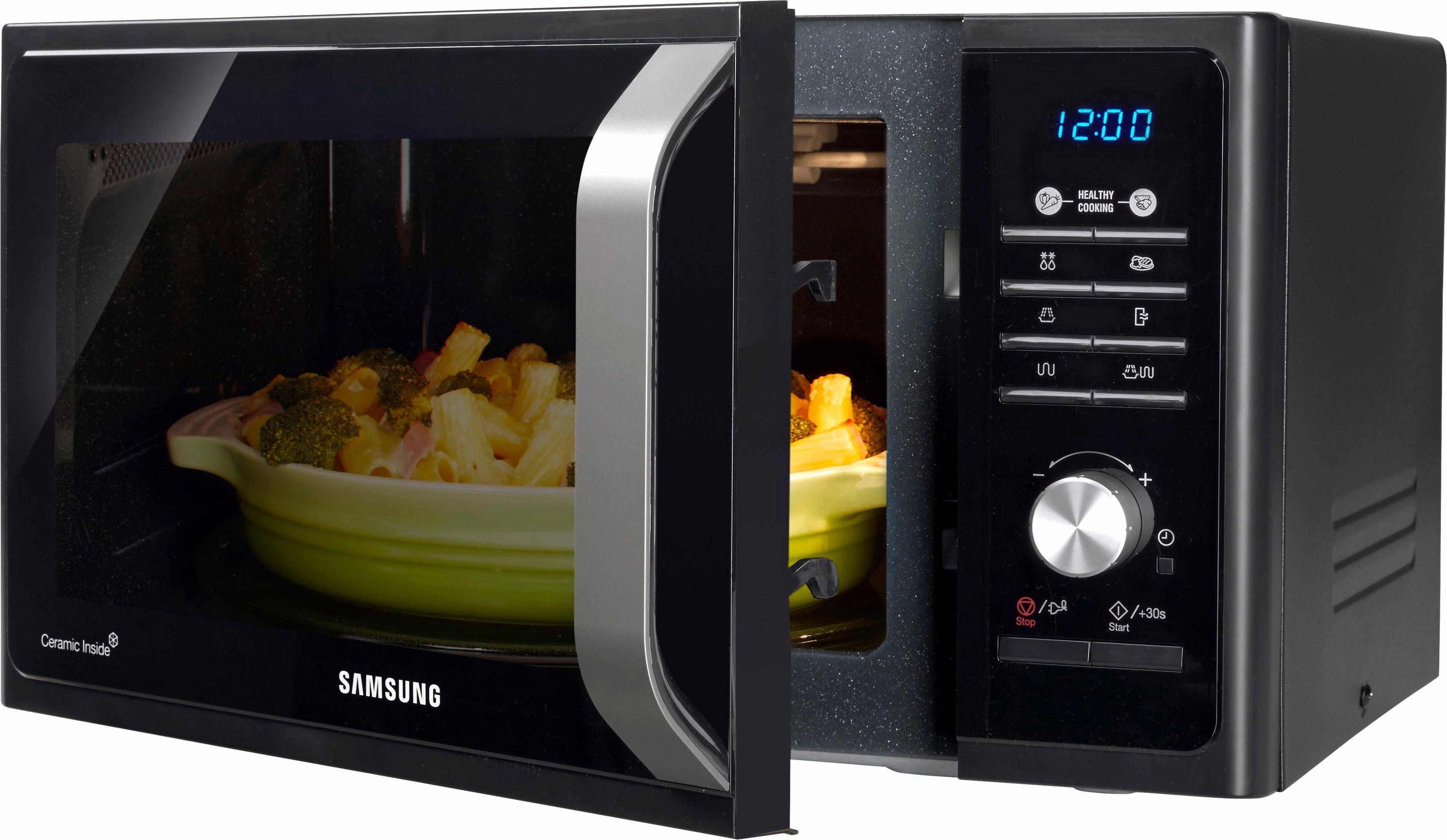Samsung Mikrowelle MG23F301TCK/EG, 800 W, mit Grill