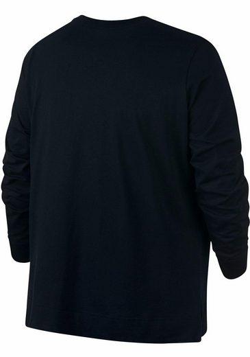 Nike Sportswear Langarmshirt NSW TEE LONGSLEEVE HBR EXT PLUS SIZE