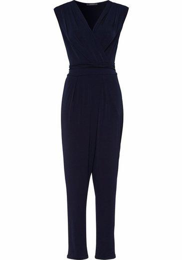 ESPRIT Collection Jumpsuit, mit tiefem V-Ausschnitt