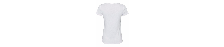ESPRIT T-Shirt, Mit schimmerndem Labelprint