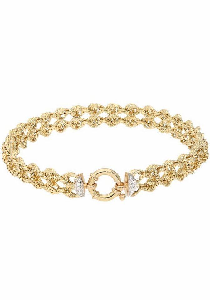 Firetti Goldarmband »Fantasiearmband« kaufen   OTTO 51354b89e9
