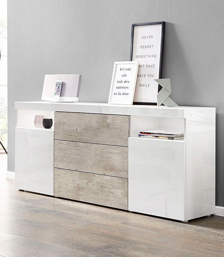 borchardt m bel sideboard kapstadt breite 166 cm online kaufen otto. Black Bedroom Furniture Sets. Home Design Ideas