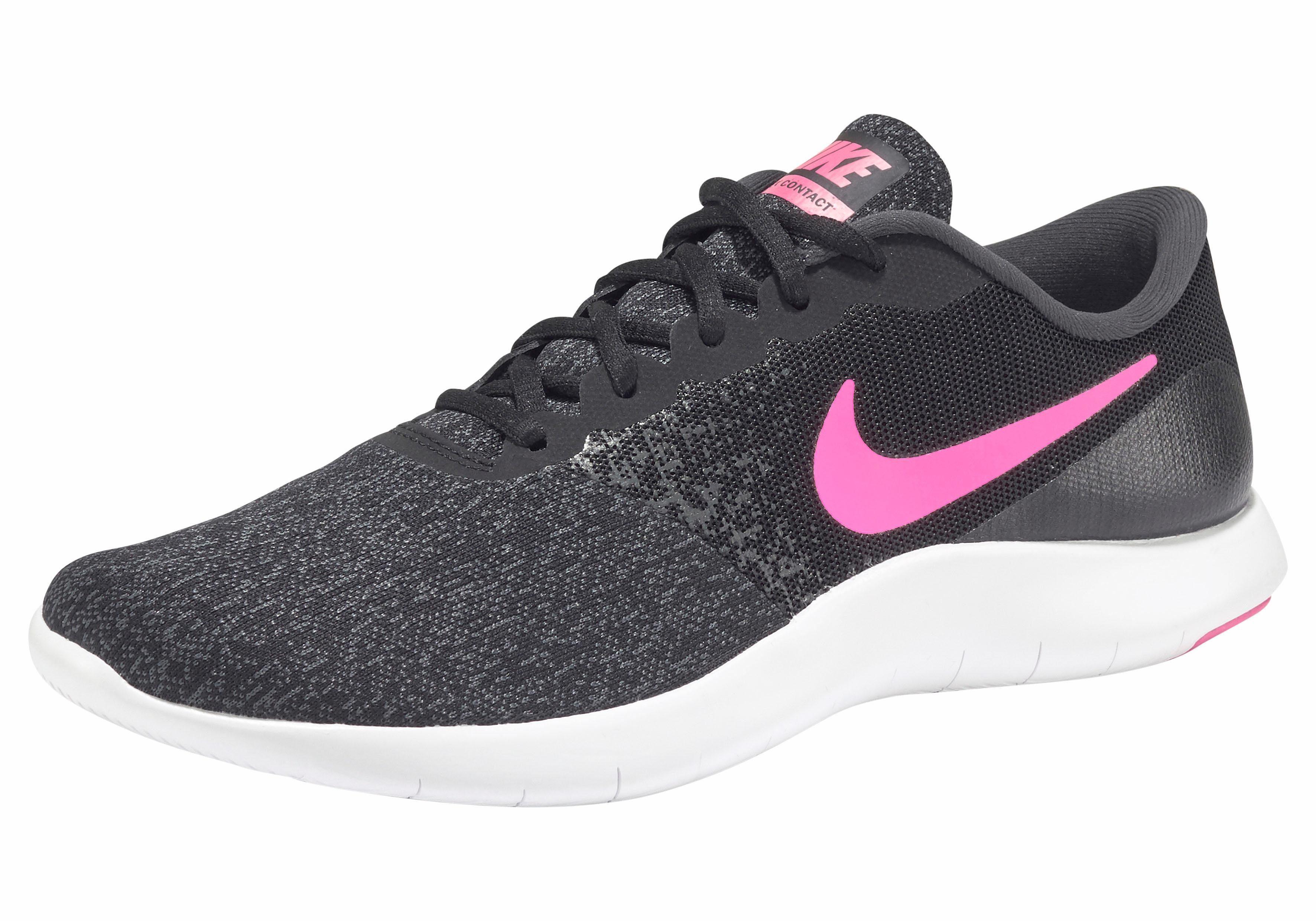 Nike »Wmns Flex Contact 2« Laufschuh, schwarz, schwarz-weiß