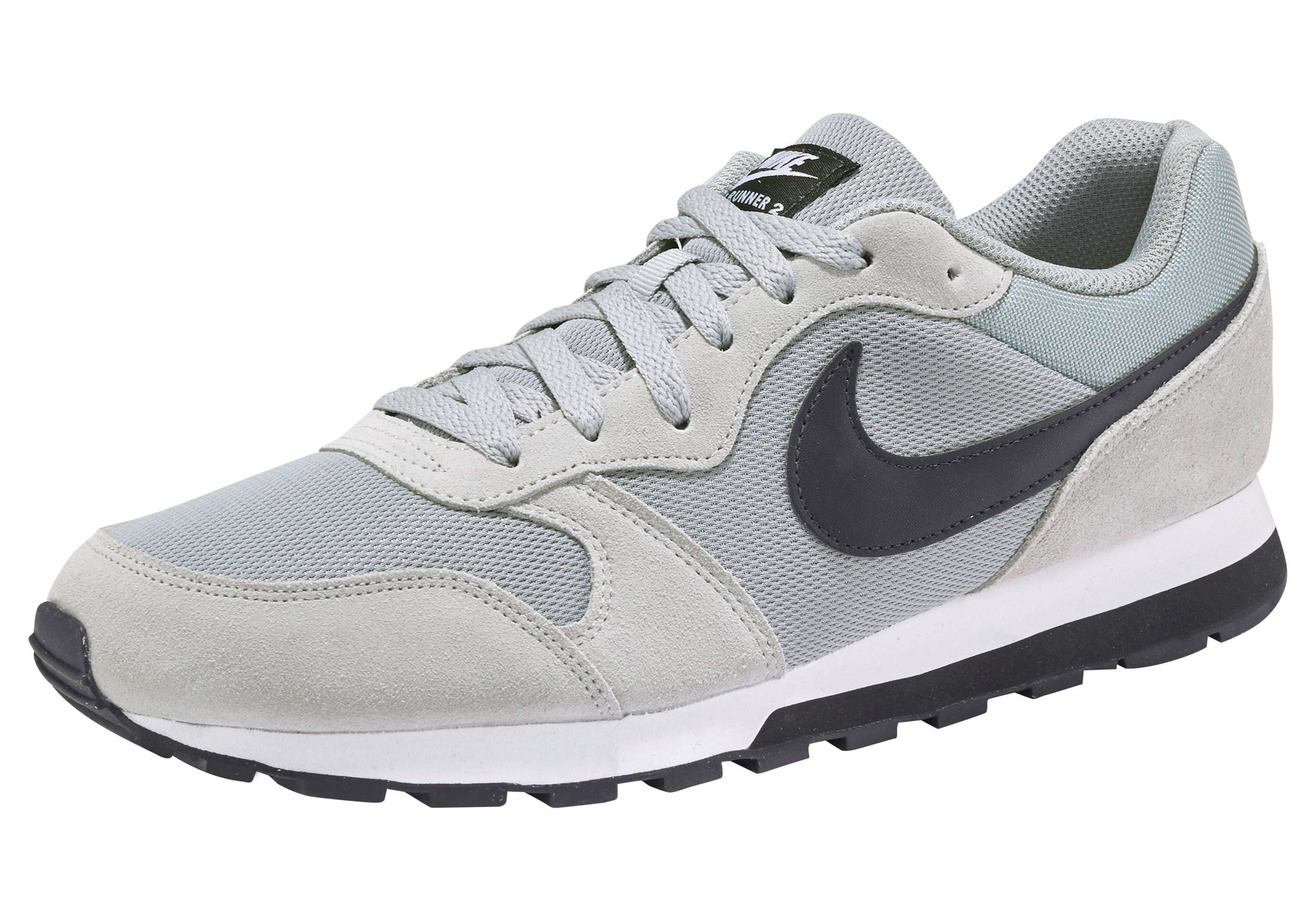 Frauen Männer Nike Damen, Sneaker, Md Runner 2 Blau