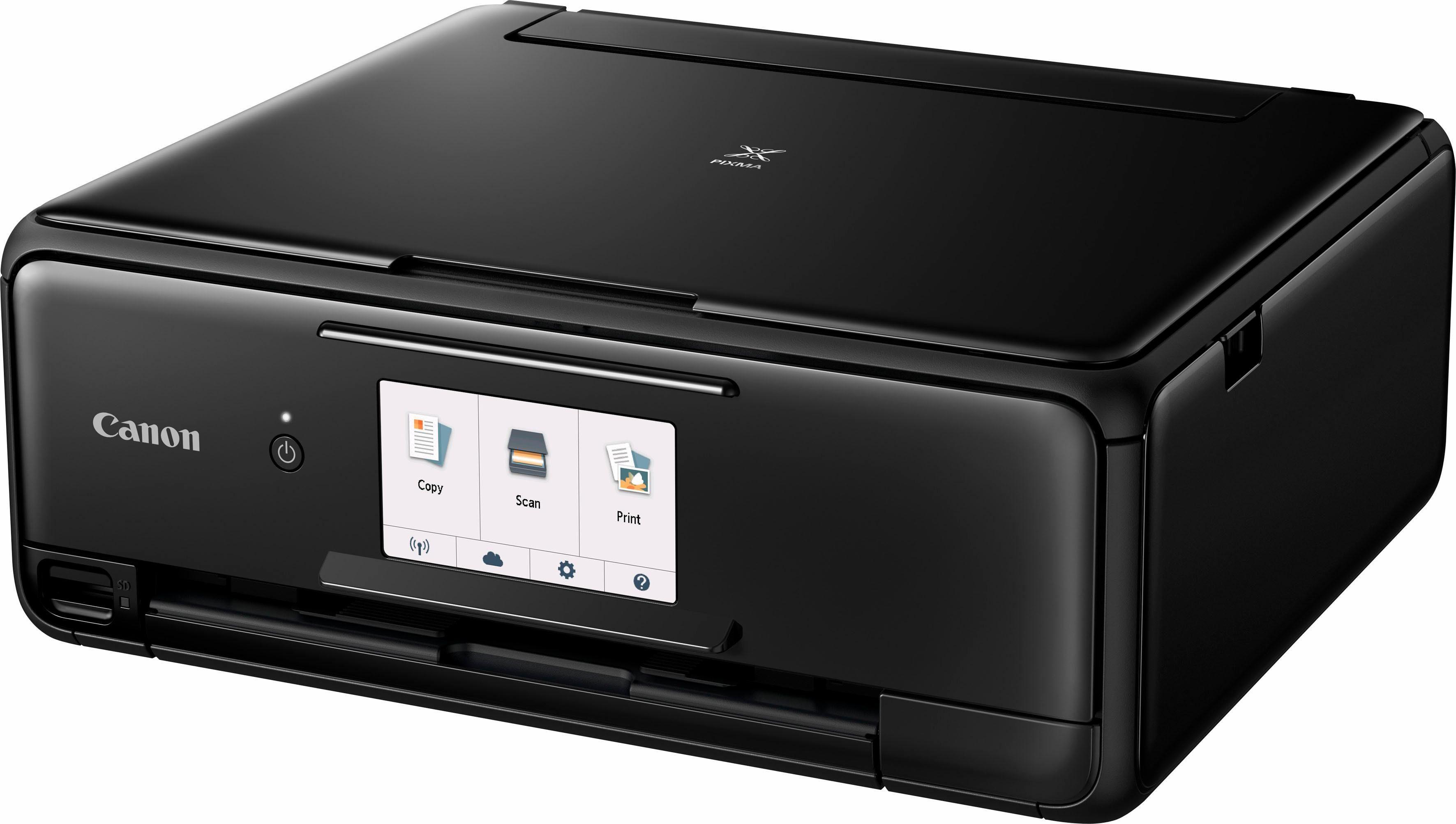 Canon PIXMA TS8150/TS8151/TS8152 Multifunktionsdrucker, (WLAN (Wi-Fi)