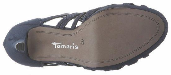 Kleinem 5 Tamaris Cm Plateau Sandalette 1 Mit 6qS6xw0UE