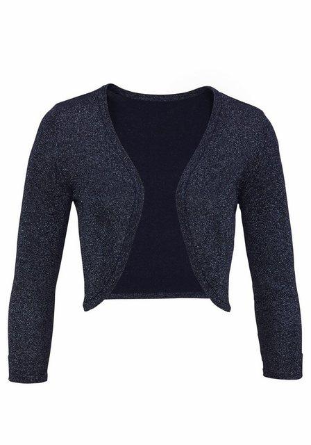 Aniston SELECTED Bolero aus glitzerndem Feinstrick | Bekleidung > Jacken > Boleros | Aniston SELECTED