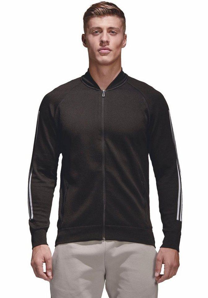 adidas Performance Trainingsjacke »M ID Kn Bomber black