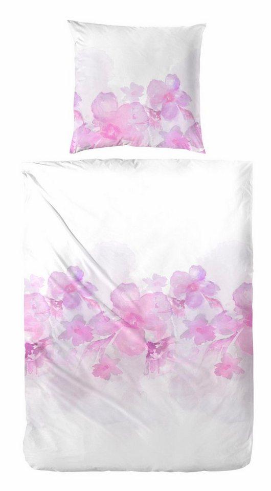 bettw sche zelis primera mit romantischen blumen online kaufen otto. Black Bedroom Furniture Sets. Home Design Ideas