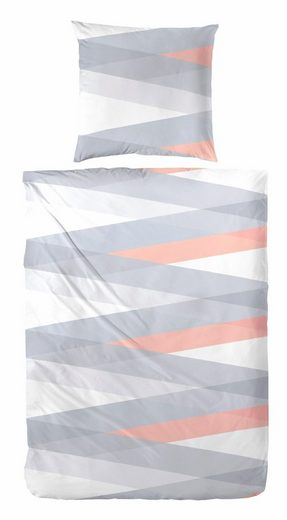 Bettwäsche »Nela«, Primera, im grafischen Design