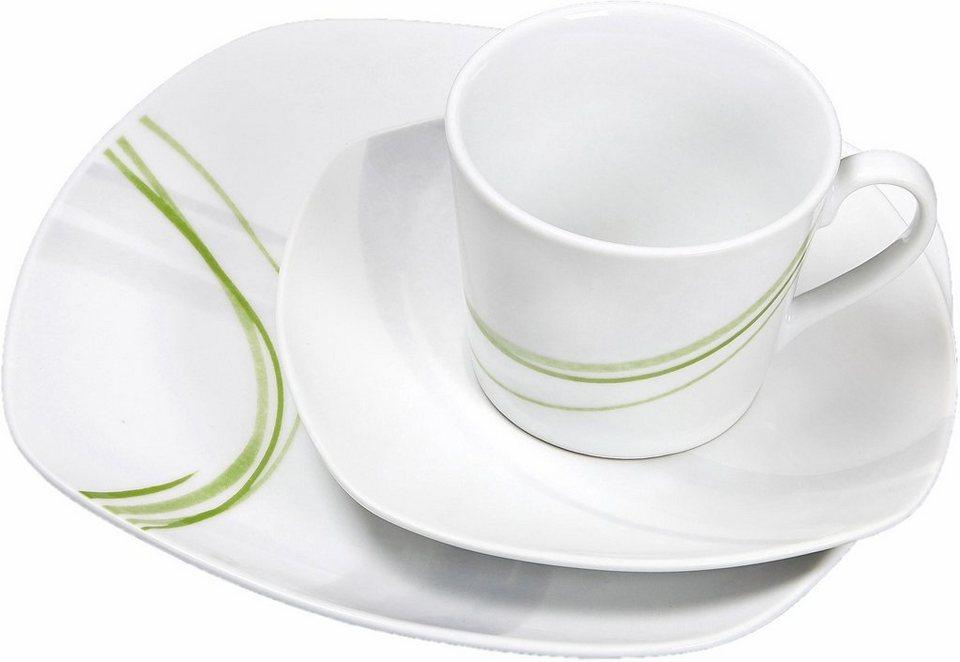 Ritzenhoff Breker Kaffeeservice Palma 18 Tlg Porzellan