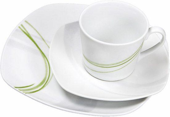 Ritzenhoff & Breker Kaffeeservice »Palma« (18-tlg), Porzellan, Spülmaschinengeeignet