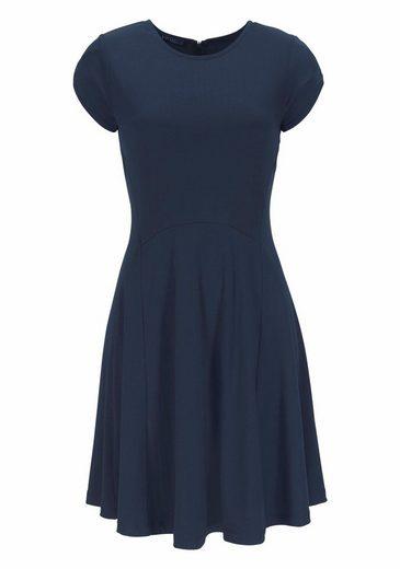 Vivance Jerseykleid, mit schwingendem Saum