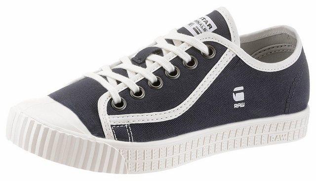 Damen G-Star RAW Sneaker im coolen Basic-Look blau | 08718597545300