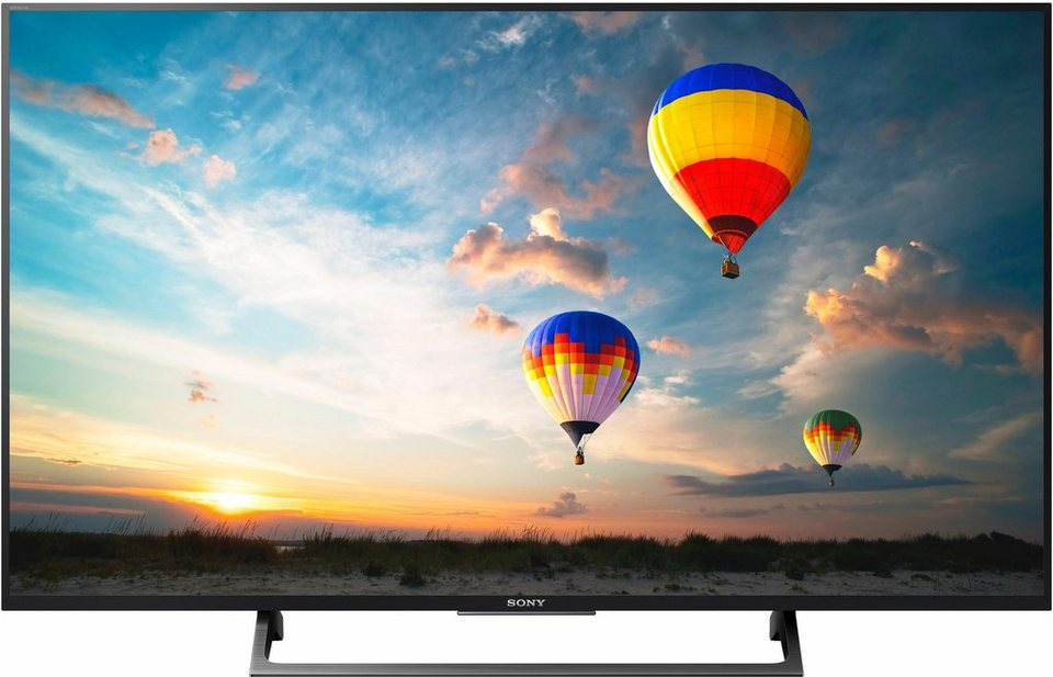 sony kd49xe8005baep led fernseher 123 cm 49 zoll 4k. Black Bedroom Furniture Sets. Home Design Ideas