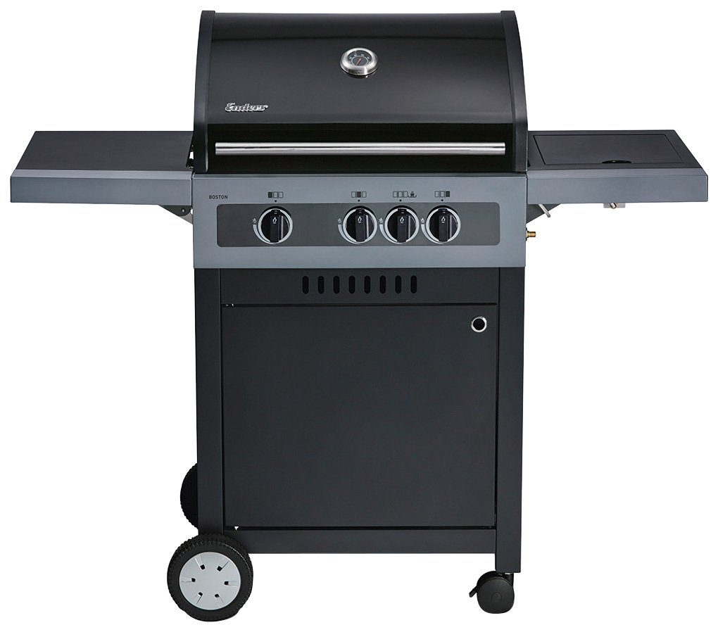 ENDERS Gasgrill »BOSTON BLACK 3 K«, BxTxH: 134x59x115 cm